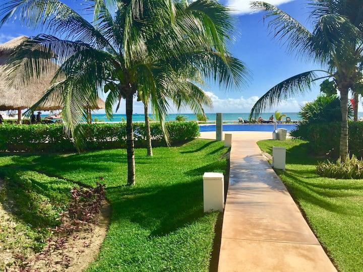 Apartamento de lujo frente al mar de Cancún