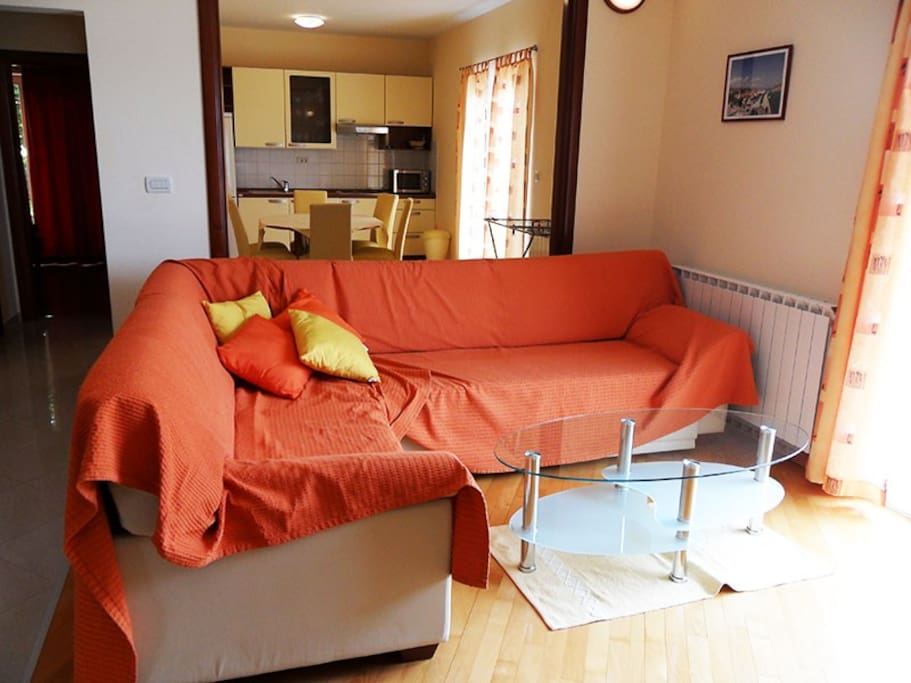 Big pull-out sofa