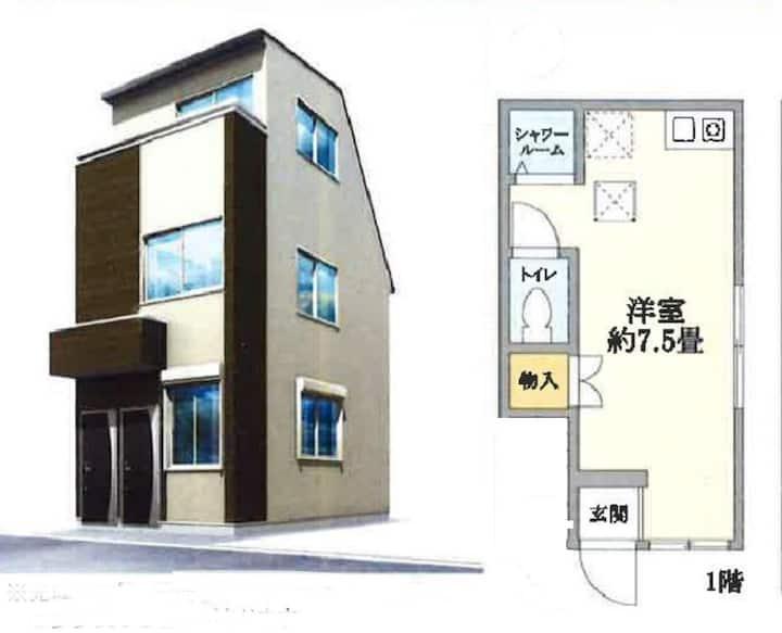 新高円寺@平安世代Home 101/距離新宿十分鐘/離車站只要兩分鐘/近高円寺商店街