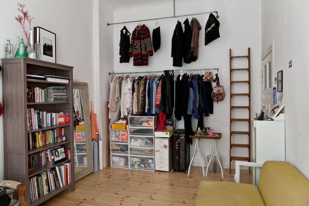 Platz für deine Kleidung