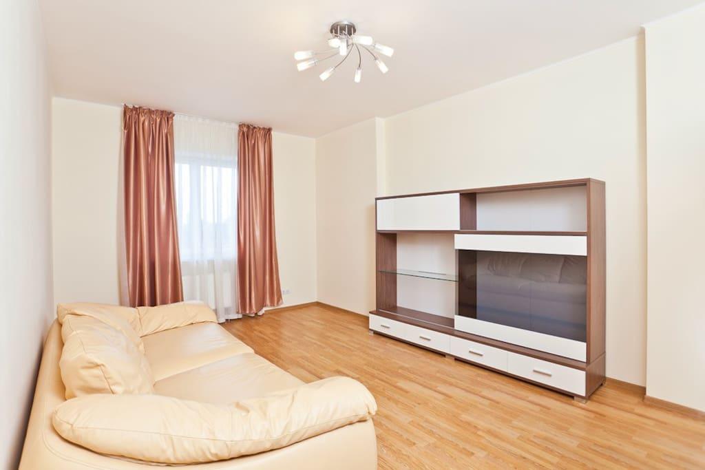 Вторая спальня с раскладным диваном