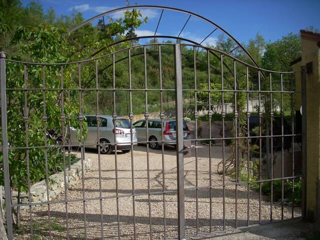 Il parcheggio privato