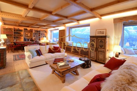 Traumchalet in Bestlage - St. Moritz - Sankt Moritz - Villa