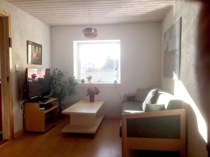 "Small ""apartment 23 m2"" with own bath and kitchen."