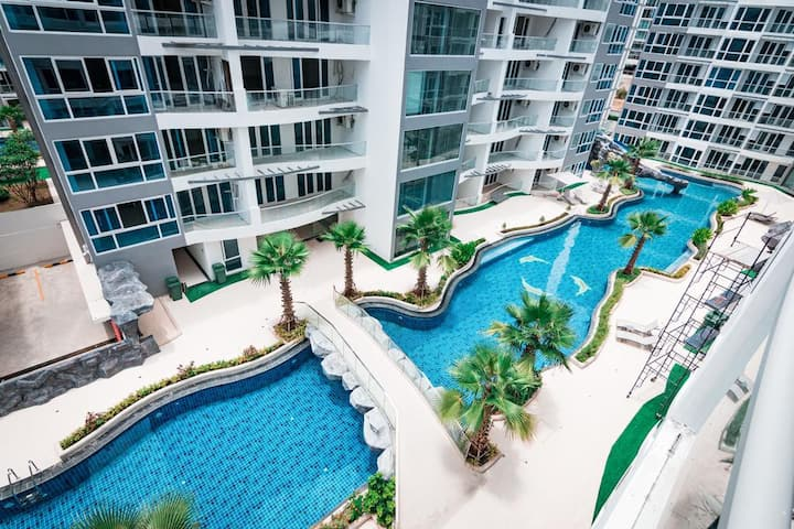 Luxury 1 Bed - Pattaya City Centre - Grand Avenue
