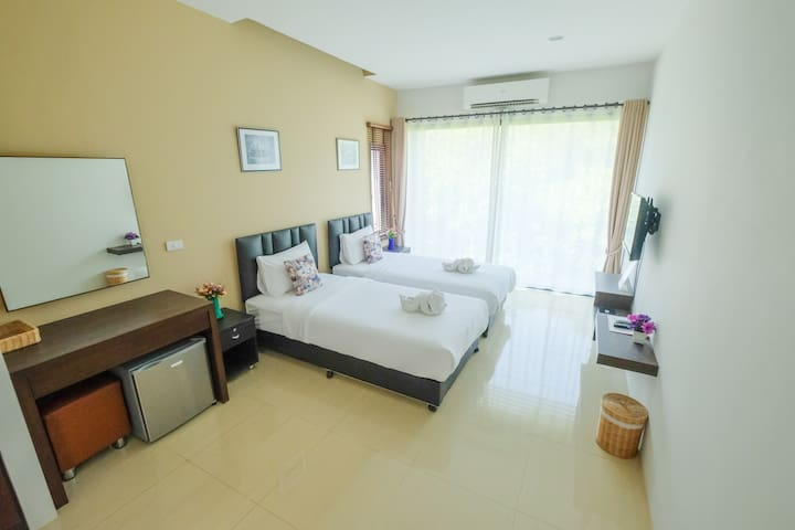 Big Room near Maerim with Free WiFi - Chiang Mai - Hotel butik