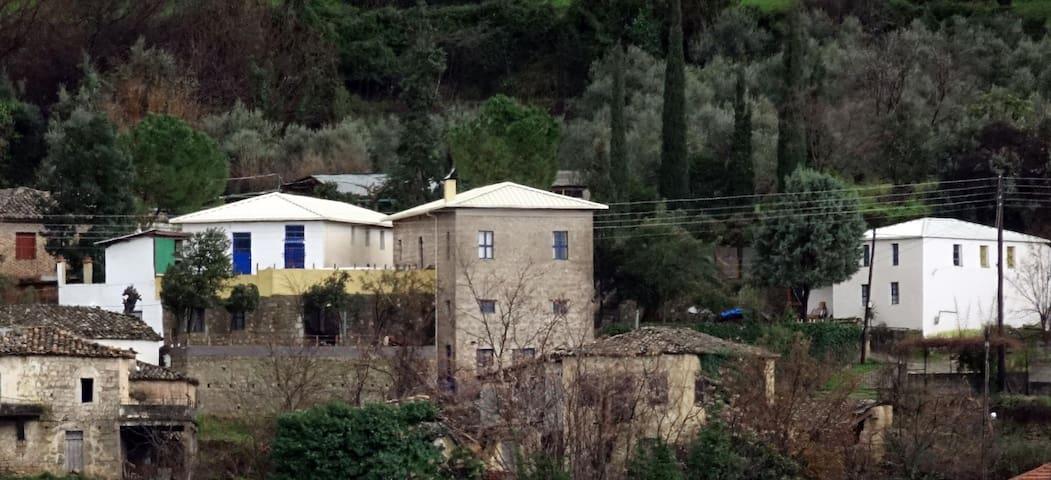 The οlive-mill farm house.
