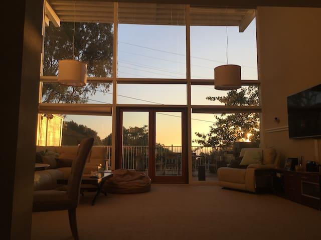 Modern San Carlos Condo w/ Silicon Valley Views