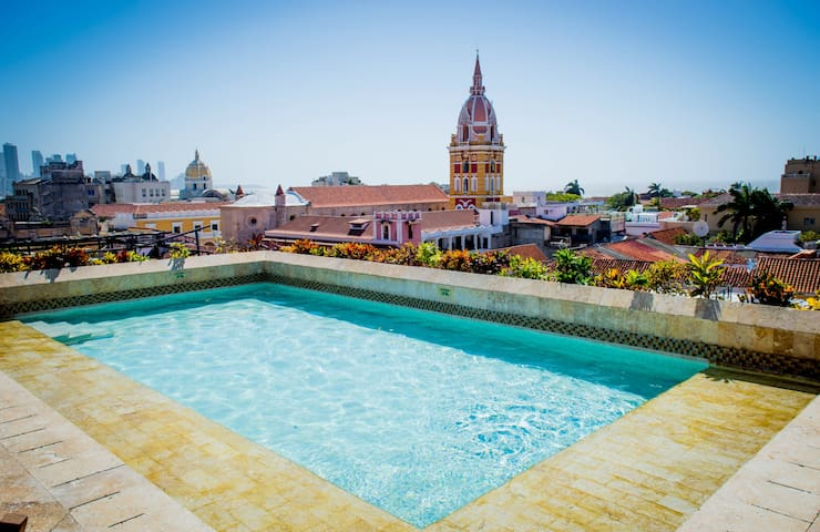 Charming historic center apartment in Cartagena!