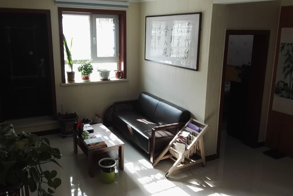 简约现代的客厅,可看电视看书会谈/Simple modern living room for watching TV, reading and meeting