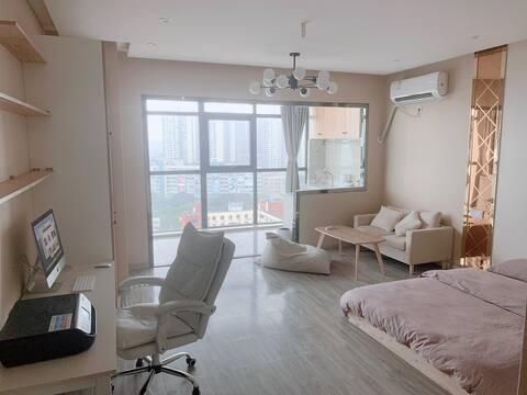 【Apartment】每客消毒/广安CBD/金瑞国际/摩尔春天/攻略/开火免费/ 晨航公寓酒店式旅居
