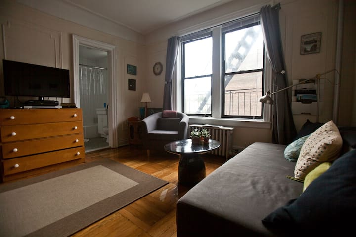 Spotless studio in brownstone Bklyn - Brooklyn