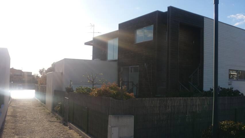 Appartement situé au 1er étage et ouvrant sur jardin