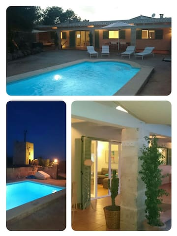 Quiet finca with swimmingpool, wifi - Campos - House
