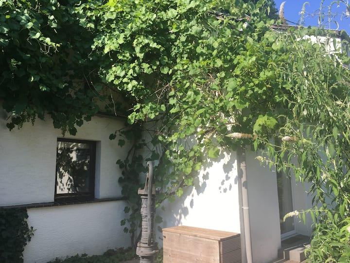 Fachwerkhaus mit eigenem Garten nach Feng Shui