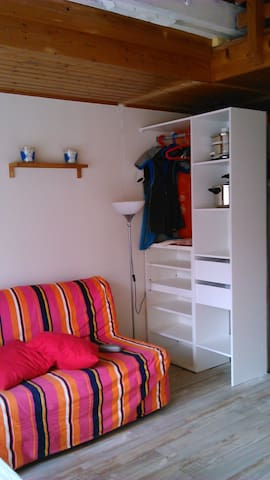 Nice and bright duplex close to lake - Carcans - Apartment