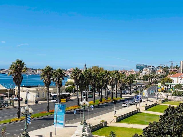 SEA VIEW 2 mins walk to Beach and Estoril Casino