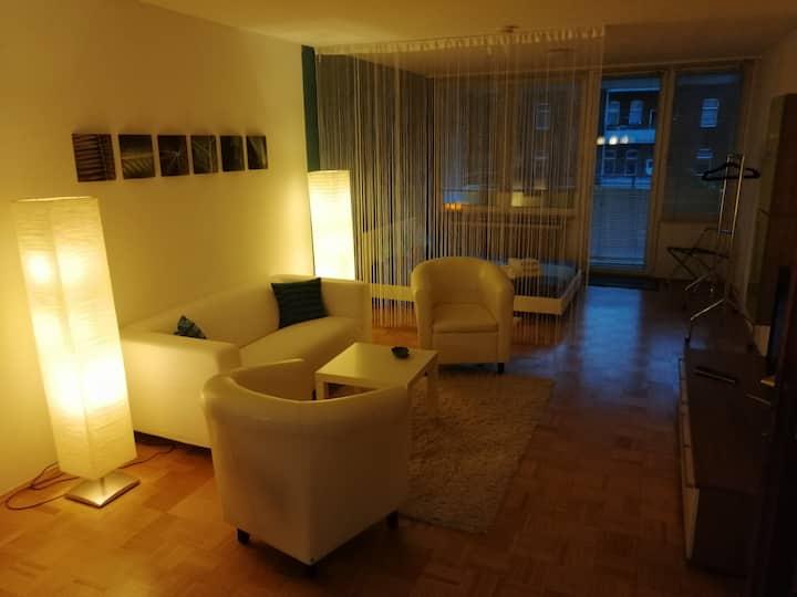 Schönes helles Apartment im Herzen Bayreuths, 55m²