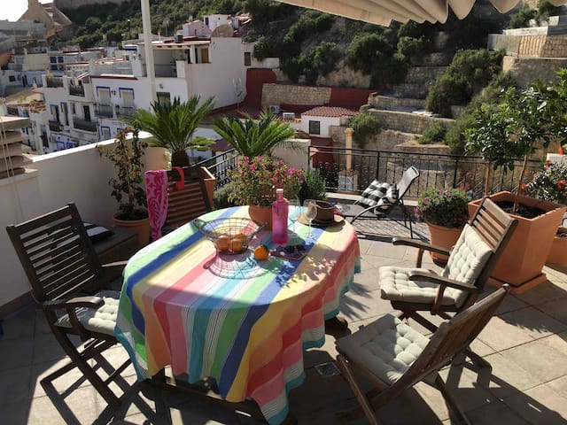 Roof terrace sea view Townhouse