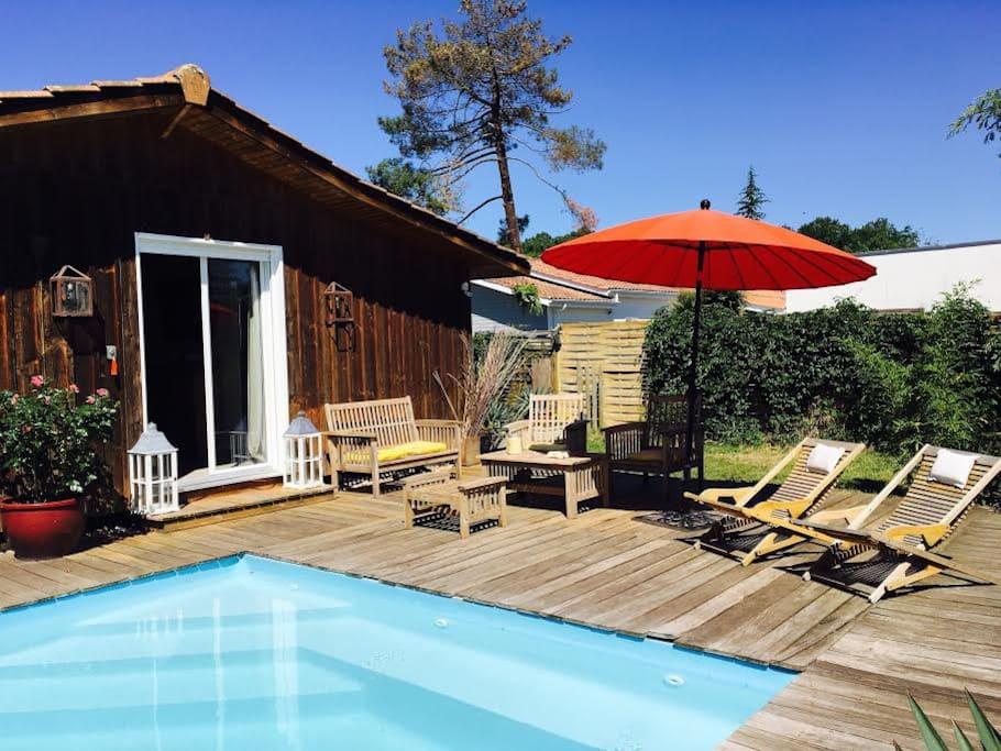 Chambre bassin d arcachon piscine chambres d 39 h tes - Maison bassin d arcachon location nice ...