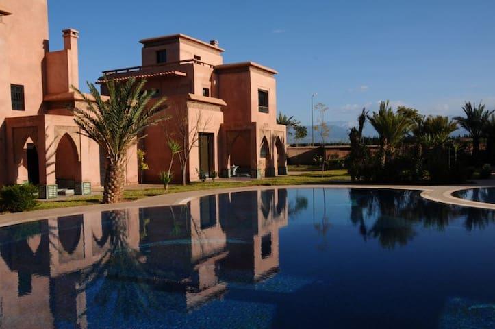 Riad Villa en famille ou entre amis - Marrakech - Flat