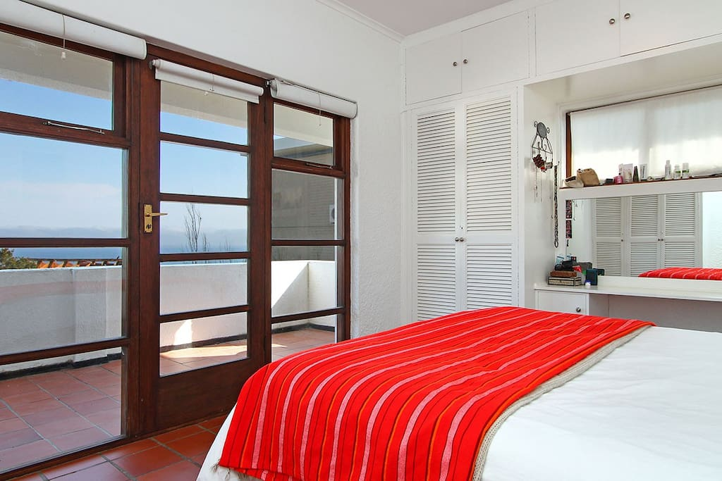 Main bedroom with partial sea view