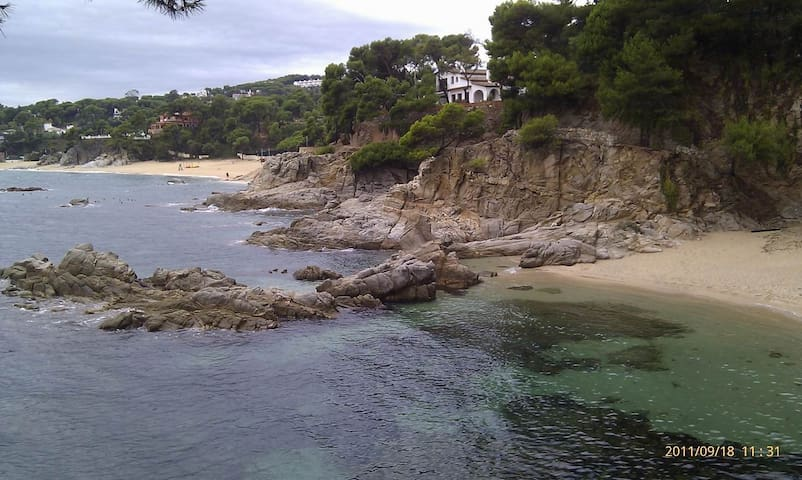 Spain,Costa Brava on the beach - Platja d'Aro - Wohnung