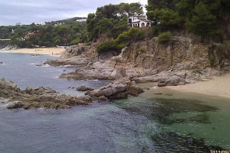 Spain,Costa Brava on the beach
