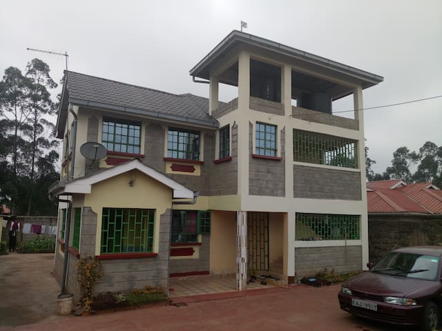 A home in rural Kiambu, Kenya close to Nairobi