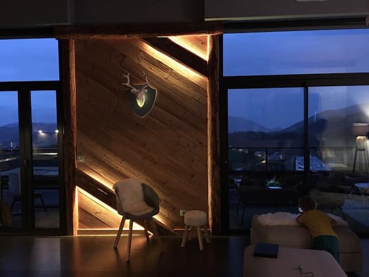 Magnifique Appartement Chalet Valberg (luxe)