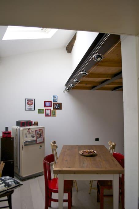 Sala da pranzo/studio