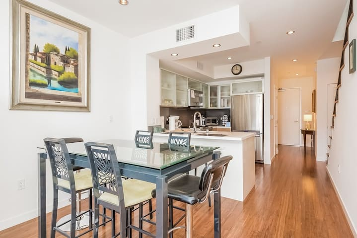 Light, bright open floor plan with exceptional flow.