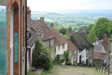 350 year old cottage, walk to town! - Shaftesbury