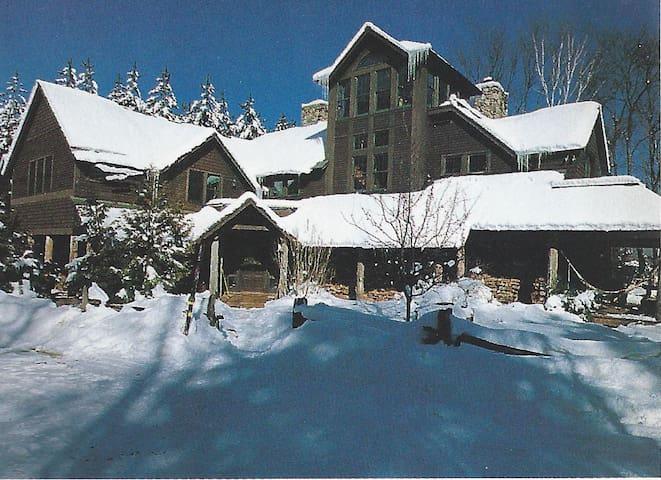 Adirondack Lodge suite w/porch&loft