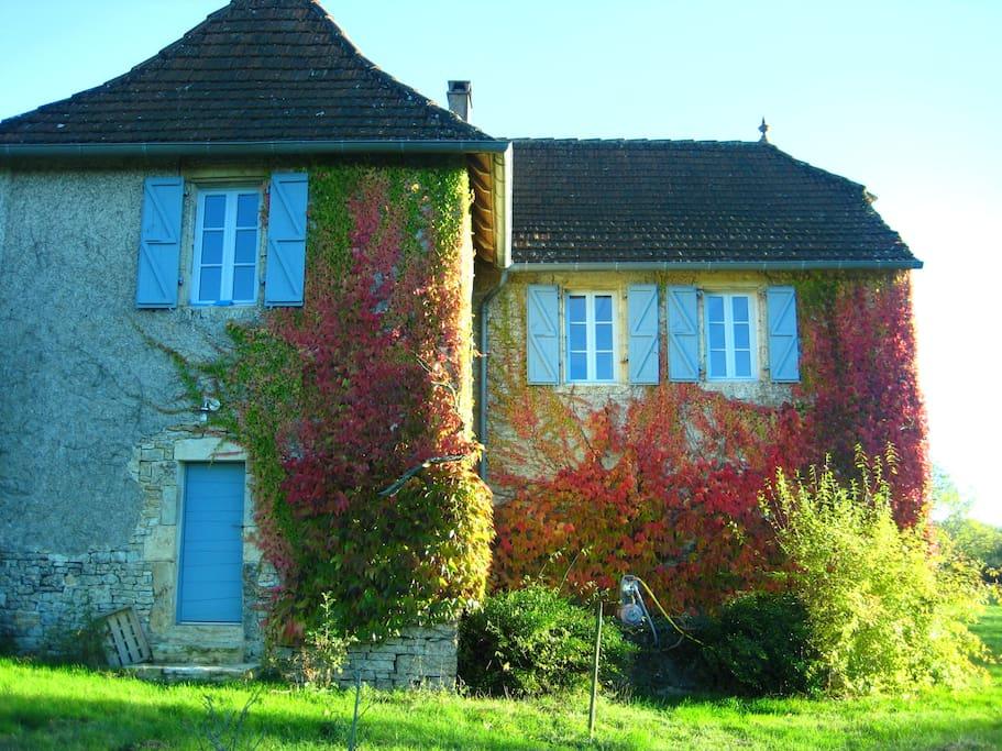 maison façade nord