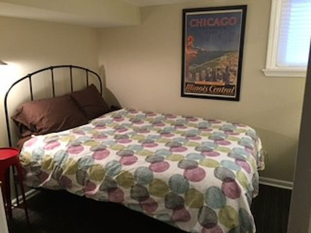 Petite Double Rm - Home Base for Chicago Trips! - Oak Park - Reihenhaus