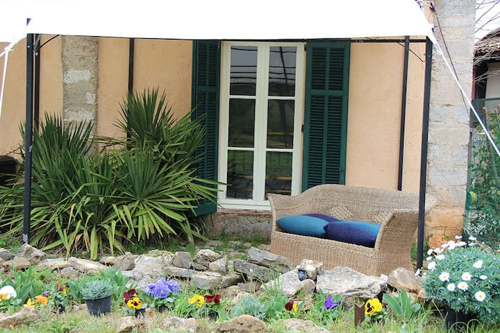 Barn apartment Lorgues vineyards - Lorgues - Apartamento