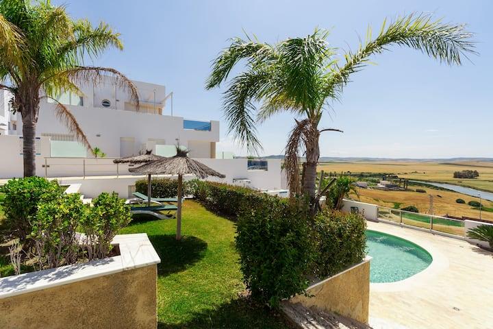 Modern holiday apartment with sea view - Apartamento Arena
