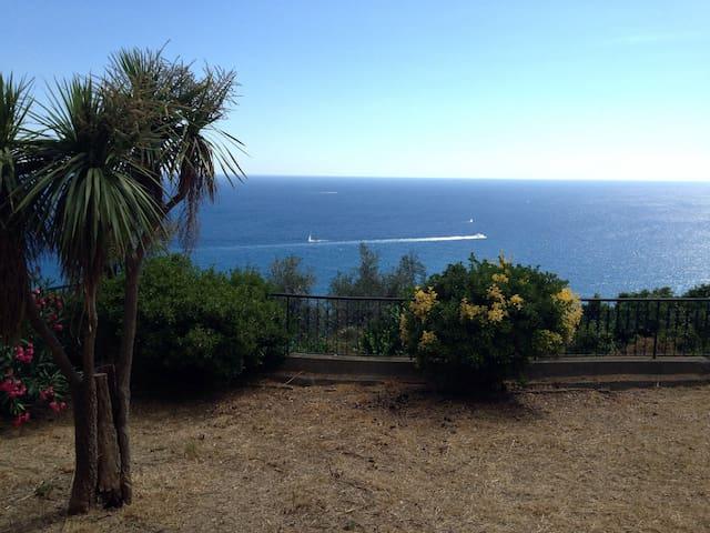 Spacious apt, incredible sea view! - Imperia - Daire