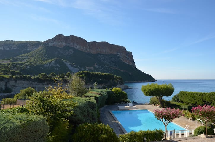 Cassis amazing view& village close - Cassis - Apartment