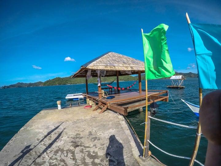 Pangulatan Beach Resort DORMITORY Room Double Bed