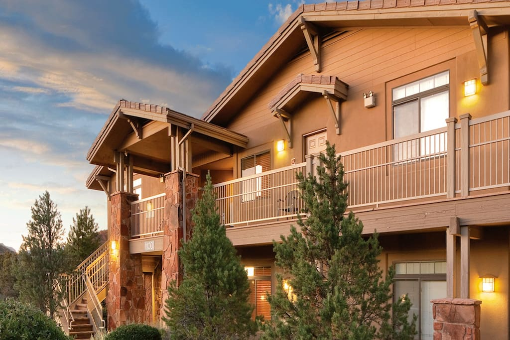 Red rock sunsets wyndham sedona 2 bedroom 2a - Residence contemporaine yerger en arizona ...