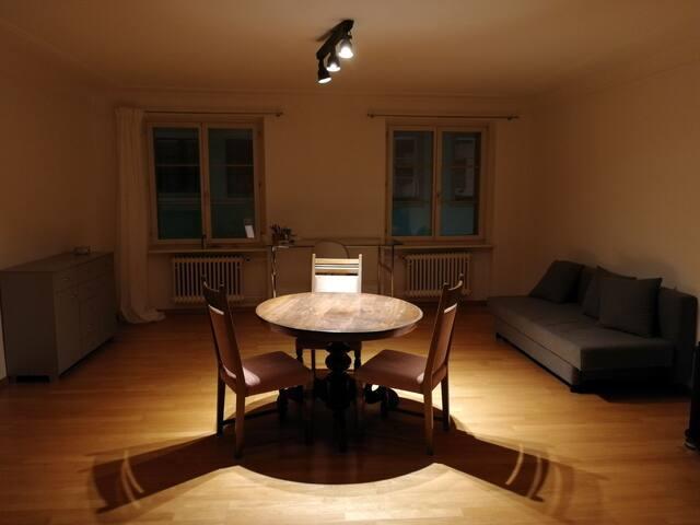 Möblierte 2-Zimmerwohnung mit Terrasse