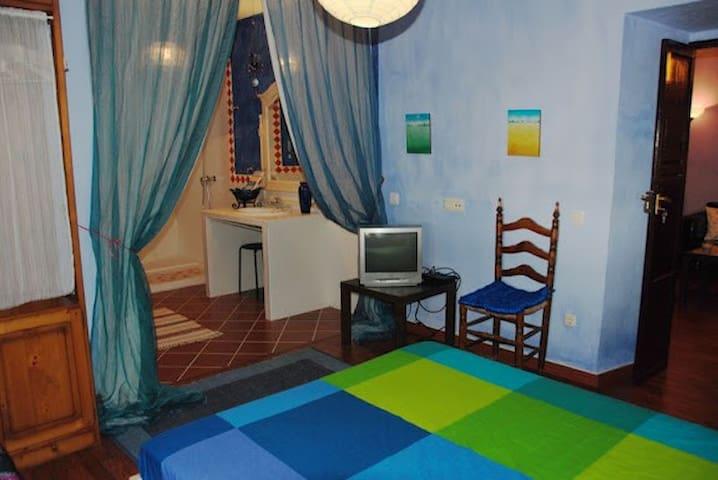 Habitación Azul. La Villa del Pozo 1