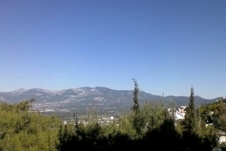 quite nice place wonderful view - Nea Erythraia - Apartament
