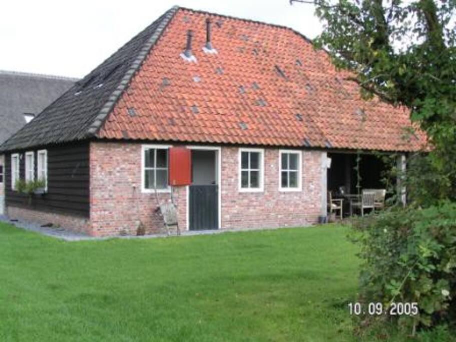 Achterkant Cottage, volledig vrij en prachtig uitzicht