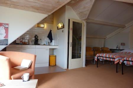 Vrijstaand appartement met veel privacy - Hemelum - Apartamento