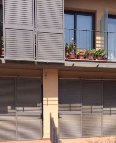 Encantador apartamento con jardín - Agramunt - Apartament