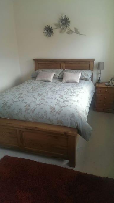 New comfy bed!