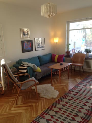 Nice apartment close to the city and nature! - Stockholm - Apartemen